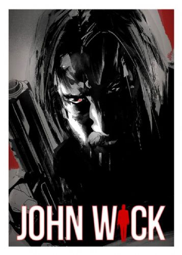 2010's Movie - JOHN WICK ART 2 - canvas print - self adhesive poster - photo print
